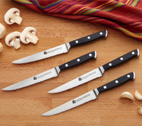 4Pc Steak Knife Set