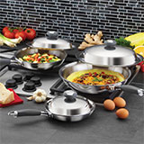 product6PieceGourmetSkilletSet1