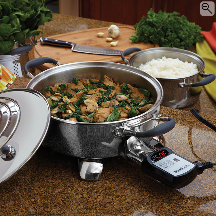 10 5 inch RoyalCore Electric Skillet